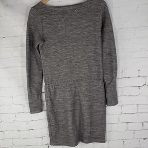 Serena & Lily Dresses - Serena & Lily Wool Blend Gray Heathered Dress S